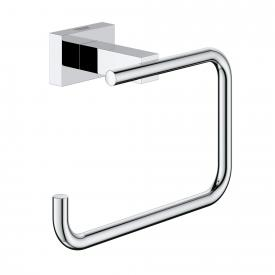 Grohe Essentials Cube toilet roll holder without cover