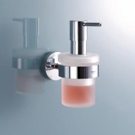 Grohe Essentials Distributeur de savon avec support chrome