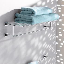 Grohe Essentials Porte-serviettes et tablette chrome