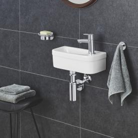 Grohe Euro Ceramic hand washbasin white, with PureGuard hygiene coating