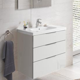 Grohe Euro washbasin with vanity unit with 3 pull-out compartments