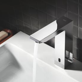 Grohe Eurocube E Robinetterie de lavabo avec capteur infrarouge, avec limiteur de température sur batterie