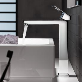 Grohe Eurocube single lever basin mixer, for freestanding wash bowls, XL-Size without waste set