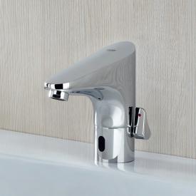 Grohe Europlus E Robinetterie de lavabo avec capteur infrarouge, avec limiteur de température sur batterie