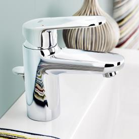 Grohe Europlus single lever basin mixer, S-Size with pop-up waste set