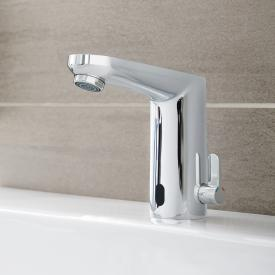 Grohe Eurosmart CE infrared electronic basin tap with mixing device, battery powered without waste set