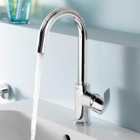Grohe Eurosmart single lever basin mixer, L-Size with pop-up waste set