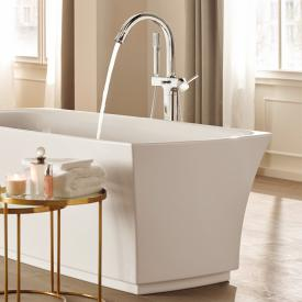 Grohe Grandera single lever bath mixer, floorstanding chrome