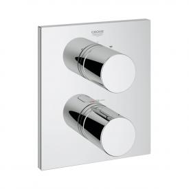 Grohe Grohtherm 3000 C thermostat with integrated 2-way diverter for bath/shower chrome