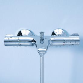 Grohe Grohtherm 800 thermostatic bath mixer, wall-mounted