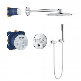 Grohe Grohtherm SmartControl concealed shower system with mixer & Rainshower 310 SmartActive