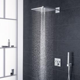 Grohe Grohtherm SmartControl shower system with thermostat & Rainshower 310 SmartActive Cube overhead shower