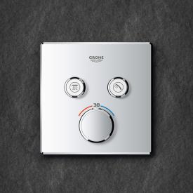 Grohe Grohtherm SmartControl thermostat with 2 shut-off valves chrome