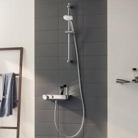 Grohe Grohtherm SmartControl thermostatic shower mixer with shower set, 900 mm H: 900 mm