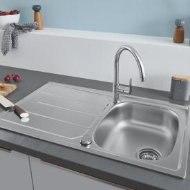 Grohe K200 reversible sink with drainer