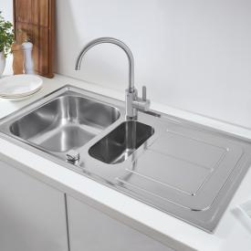 Grohe K300 reversible sink with drainer