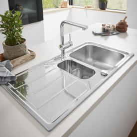 Grohe K500 reversible sink with drainer