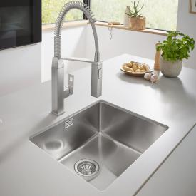 Grohe K700 undermount sink satin stainless steel