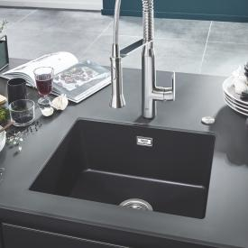 Grohe K700U sink granite black