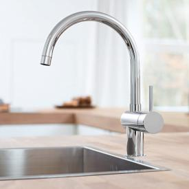 Grohe Minta kitchen fitting chrome