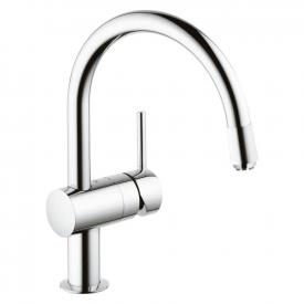 "Grohe Minta single lever kitchen mixer, 1/2"", for vented hot water cylinders"