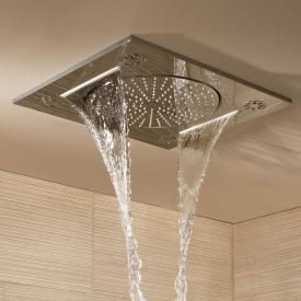 "Grohe Rainshower F-Series 15"" Multi Spray ceiling-mounted shower"