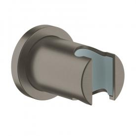 Grohe Rainshower hand shower bracket brushed hard graphite