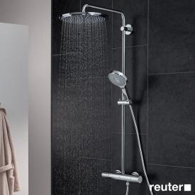 Grohe Rainshower System 310 shower system with thermostat for wall mounting