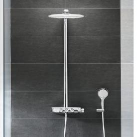 Grohe Rainshower System SmartControl 360 DUO shower system thermostatic mixer chrom/moon white
