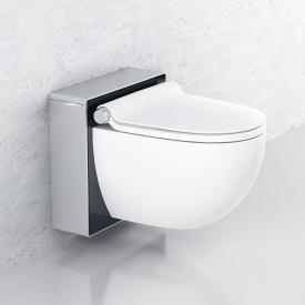 Grohe Sensia IGS shower toilet, complete set for concealed cistern, wall-mounted white/matt chrome/black