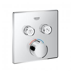 Grohe SmartControl mixer with 2 shut-off valves