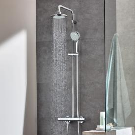 Grohe Tempesta new C System 160 shower system with thermostat for wall mounting