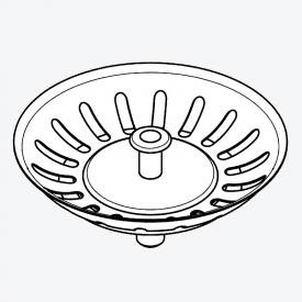 Grohe Universal basket strainer for kitchen sink