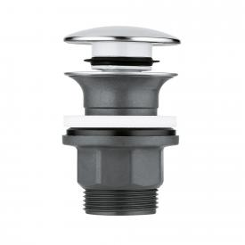Grohe waste set with push-open plug