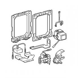 Grohe wireless electronics for toilet, for an additional wall plate for manual actuation