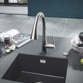 Grohe Zedra the NEW single lever kitchen mixer chrome