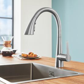 Grohe Zedra the NEW single lever kitchen mixer supersteel