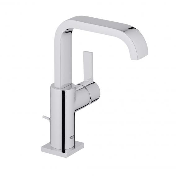 Grohe Allure single lever basin mixer, L-Size with pop-up waste set