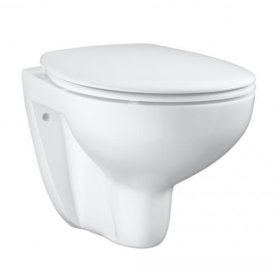 Grohe Bau Ceramic wall-mounted washdown toilet set, white