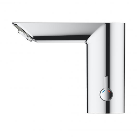 Grohe Bau Cosmopolitan E infrared basin fitting, with temperature control battery-powered
