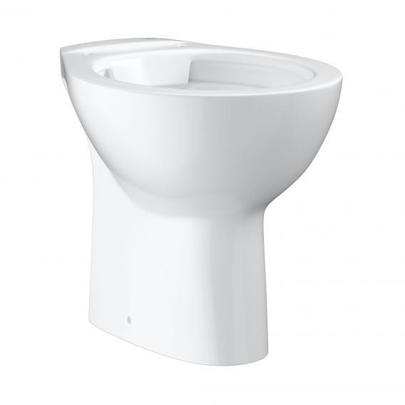 Grohe Bau Keramik floorstanding washdown toilet, vertical outlet, white