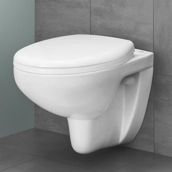 Grohe Bau Keramik wall-mounted washdown toilet, white