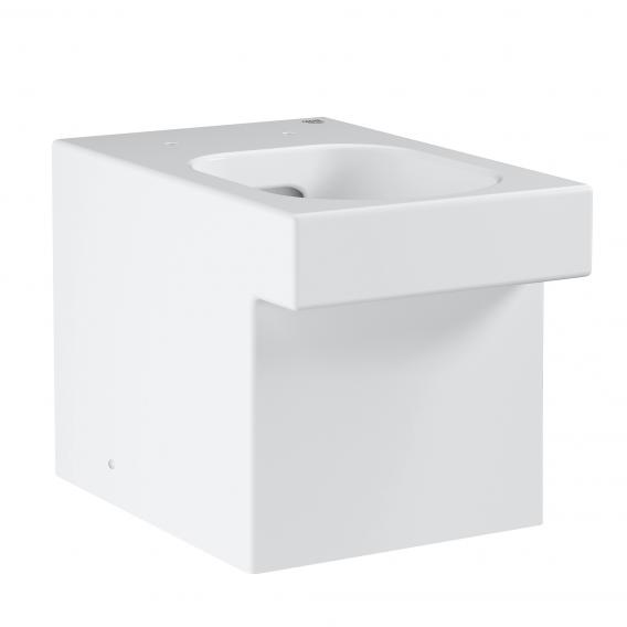 Grohe Cube Ceramic floorstanding washdown toilet, white, with PureGuard hygiene coating