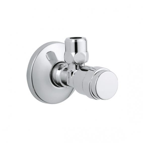 "Grohe EGAPLUS service valve 1/2"" x 3/8"", not self-sealing, with compression joint"