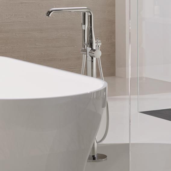 Grohe Essence floorstanding single lever bath mixer chrome