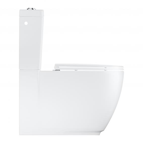 Grohe Essence floorstanding, close-coupled, washdown toilet, rimless