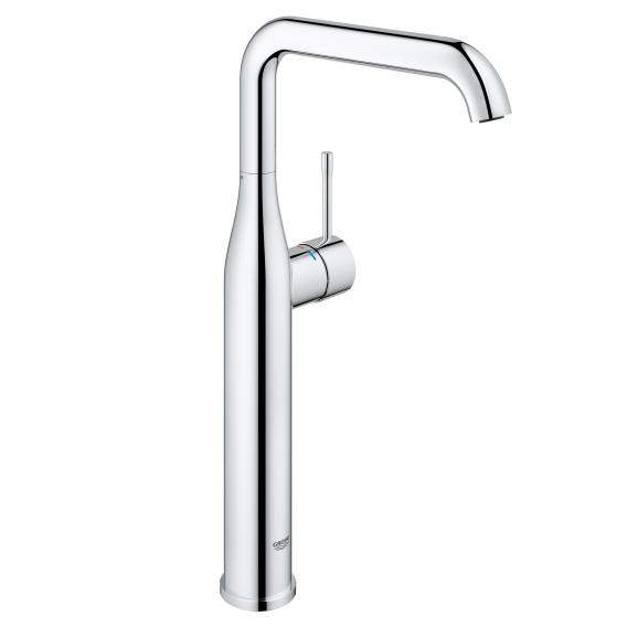 Grohe Essence single lever basin mixer, for free-standing wash bowls, XL size chrome