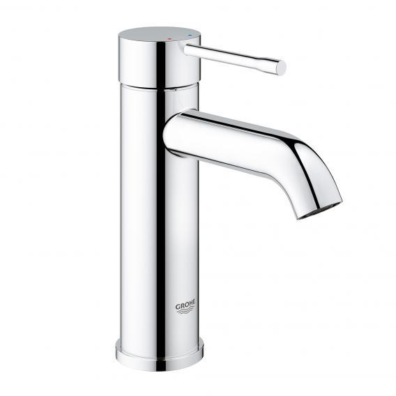 Grohe Essence single lever basin mixer, S size without waste set, chrome