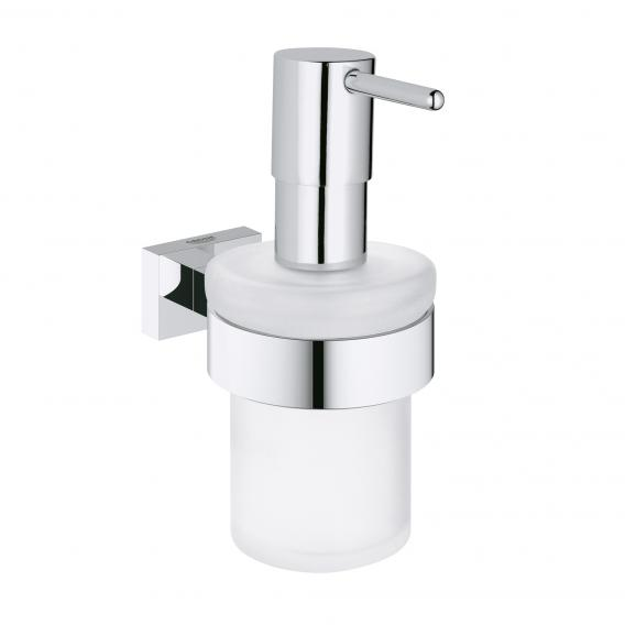 Grohe Essentials Cube soap dispenser with holder