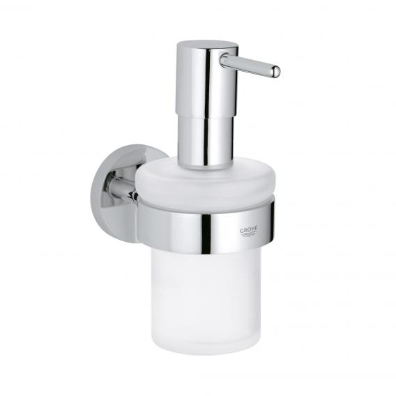 Grohe Essentials soap dispenser with holder chrome